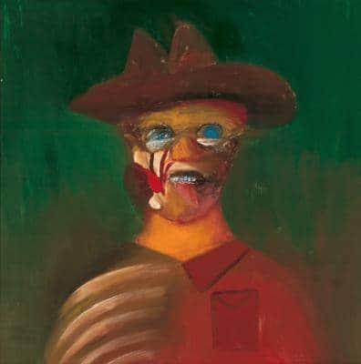 Sidney Nolan, Ern Malley 1973, Art Gallery of South Australia