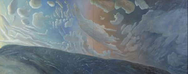 """Dark Tide, Bogangar 1994"", William Robinson, QAGOMA collection"