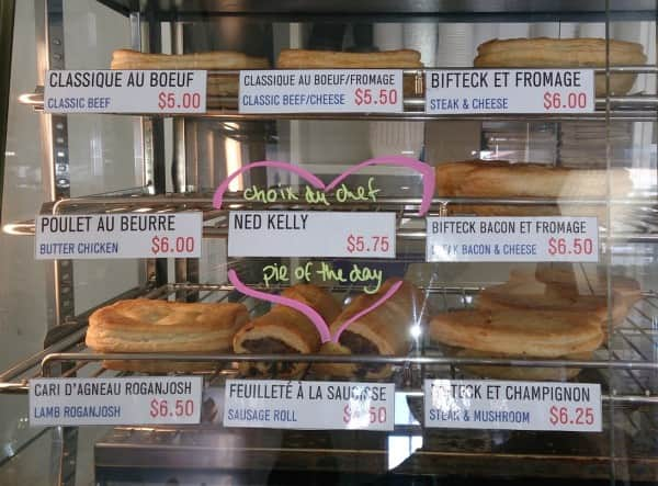 Ned Kelly pie of the day, Montreal, 2015