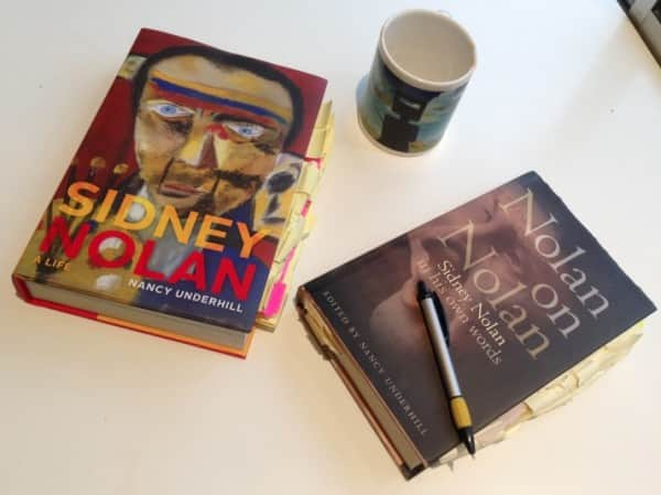 Dr Underhill's two Nolan texts earmarked for research