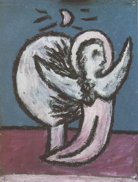 "Sidney Nolan, ""Angel and Tree"", 1941"