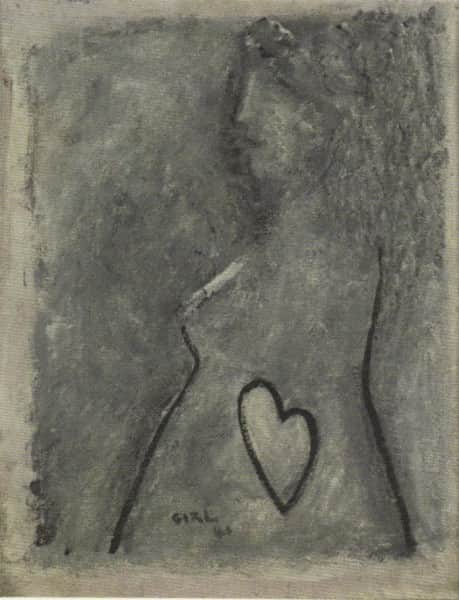 "Sidney Nolan, ""Girl"", 1941"