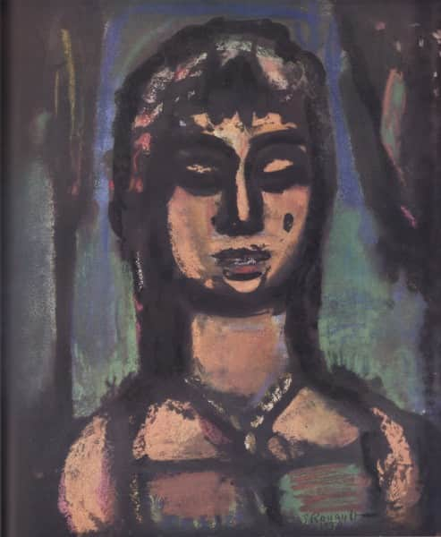 "Georges Rouault, ""Odalisque"", reproduced in 'Art in Australia', Jun 1941, p. 29"