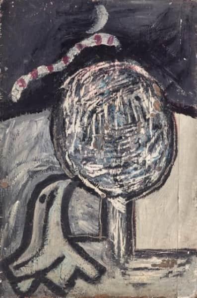 Sidney Nolan, untitled (Round tree), c. 1941, AGNSW collection