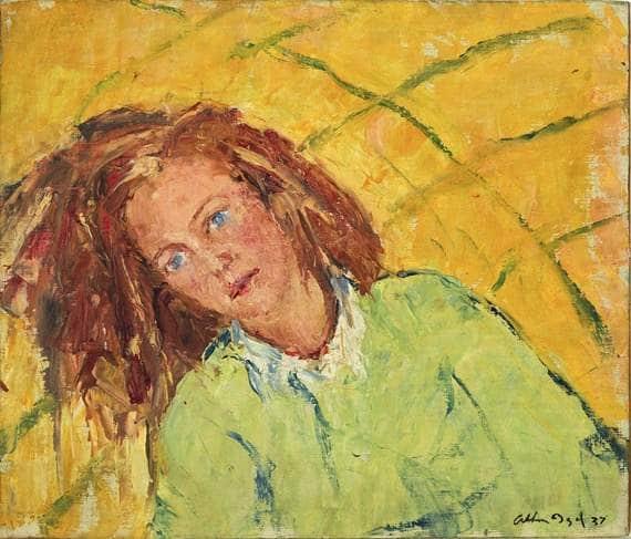Arthur Boyd, portrait of his sister Mary, 1937, collection NGA