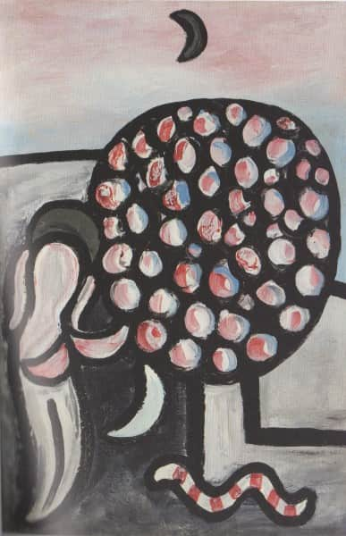 "Sidney Nolan, ""Woman and Tree"" aka ""Garden of Eden"", 1941, Heide collection"