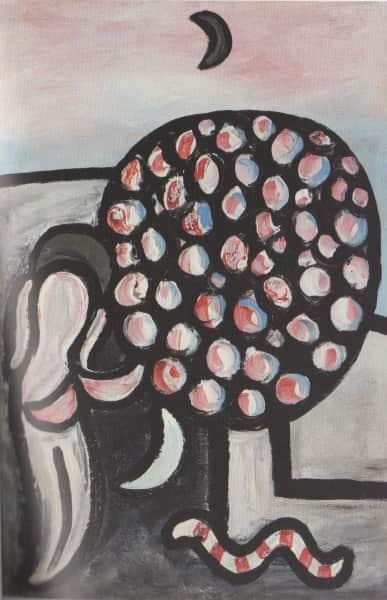 "Sidney Nolan, ""Woman and Tree"" aka ""Garden of Eden"", 1941, Heide collection"