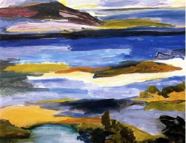 "Lina Bryans, ""Mallacoota Inlet"", 1964"