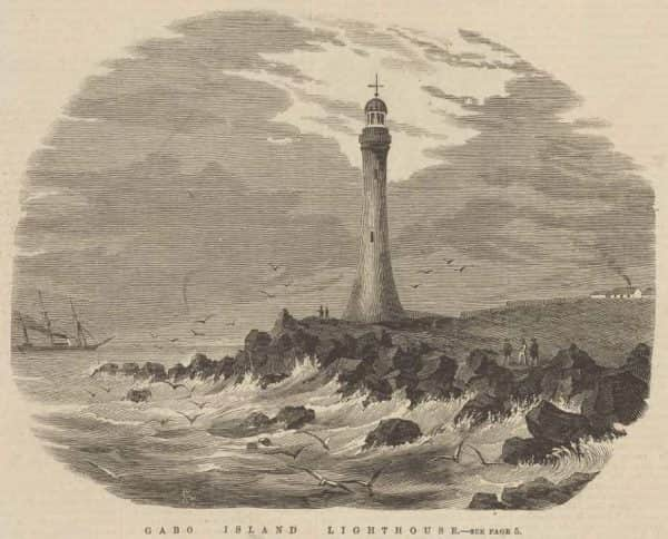 "Samuel Calvert, ""Gabo Island Lighthouse"", 1862"