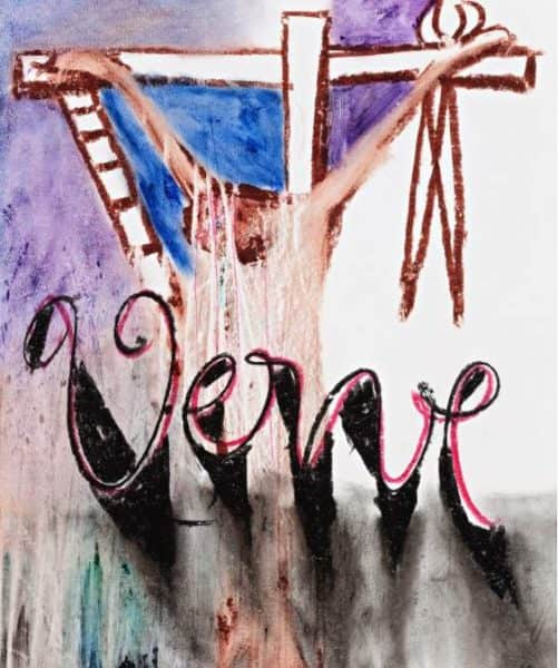 "Sidney Nolan, cover design for ""Verve"", 1956"